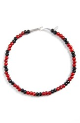 Undercover Women's Beaded Necklace Dark Red