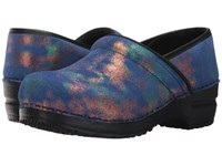 Sanita Original Professional Pixie Blue Clog Shoes