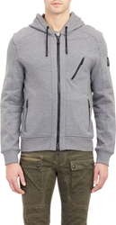 Belstaff Headley Hoodie Light Gray