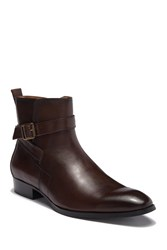 Steve Madden Sacha Leather Boot Brown Leat