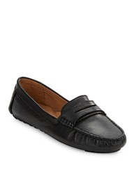 Gentle Souls Portobello Leather Loafers Black