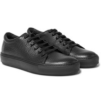 Acne Studios Adrian Full Grain Leather Sneakers Black
