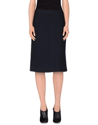 Ottod'ame 3 4 Length Skirts Dark Blue