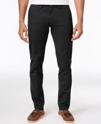 Ben Sherman Men's Slim Fit Stretch Chinos Only At Macy's Jet Black