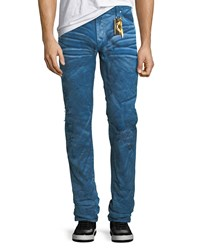 Robin's Jeans Distressed Denim Slim Straight Paul Blue