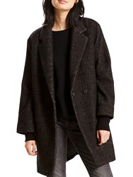Levi's Carina Wool Mix Coat Black