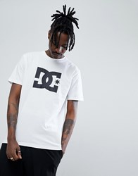 Dc Shoes Star Short Sleeve T Shirt White