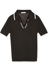 J.W.Anderson Knitted Polo Shirt Black