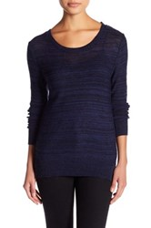 14Th And Union Open Back Sweater Petite Blue