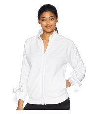 Puma Bow Track Jacket White Coat