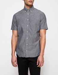 Gitman Brothers Vintage S S Black Chambray Button Down