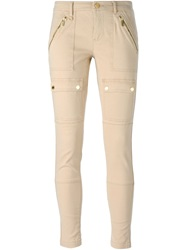 Michael Michael Kors Skinny Trousers Nude And Neutrals