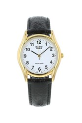 Topshop Casio Mtp 1154Pq 7Bef Leather Watch Black