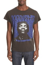 Madeworn 'S Snoop Graphic T Shirt Dirty Black