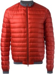 Herno Puffer Jacket Red