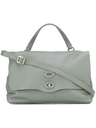 Zanellato Medium 'Conifera' Tote Green