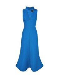 C Meo Collective First Thing Flared Skirt Dress Teal