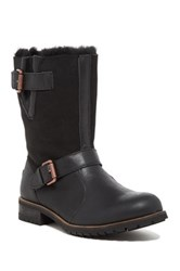 Australia Luxe Collective Easy Rider Genuine Sheepskin And Shearling Boot Black