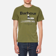 Barbour Men's Padstow T Shirt Burnt Olive Green