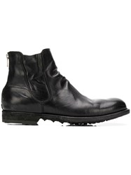 Officine Creative Graphis Boots Black
