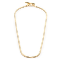 J.Crew Snake Chain Necklace Gold