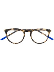 Nike Rounded Glasses Frame Brown