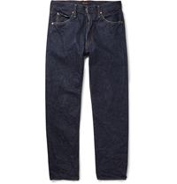 Chimala Relaxed Fit Raw Selvedge Denim Jeans Blue