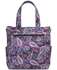 Ricardo Palm Springs 15 Tote Midnight Paisley