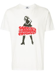 Hysteric Glamour Print T Shirt White