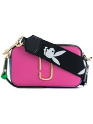 Marc Jacobs Snapshot Camera Bag Pink And Purple