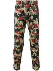 G Star Camouflage Print Trousers Nude Neutrals