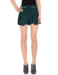 Sister Jane Skirts Mini Skirts Women Dark Green
