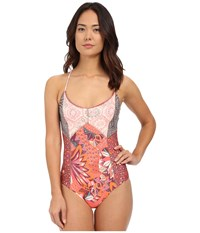 Maaji My Favorite Route One Piece Multi Women's Swimsuits One Piece