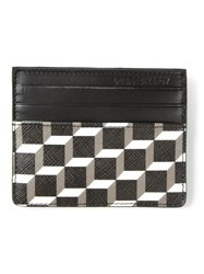 Pierre Hardy Cube Print Card Holder Black
