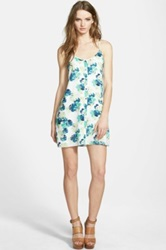 Whitney Eve Palm Print Tank Dress Multi