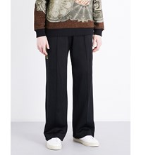 Givenchy Side Panel Mid Rise Woven Jogging Bottoms Black