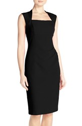 Adrianna Papell Women's Pleated Sheath Dress