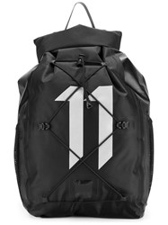 11 By Boris Bidjan Saberi Logo Backpack Black