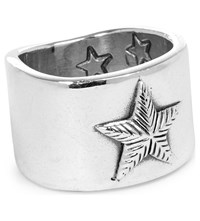 Cody Sanderson Plain Star Sterling Silver Ring