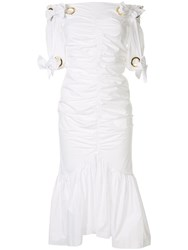 Alice Mccall Everything Midi Dress White