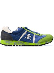 Premiata 'Luck' Sneakers Blue
