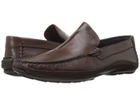 Steve Madden Zeallot Brown Leather Men's Slip On Shoes