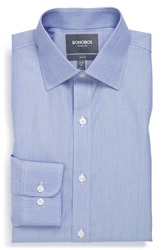 Bonobos Slim Fit Wrinkle Free End On End Dress Shirt Online Only Deep Sea