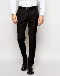Vito Tuxedo Suit Trousers In Slim Fit Black