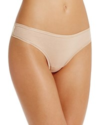 Fine Lines Pure Cotton Thong 13Rgs34 Skin