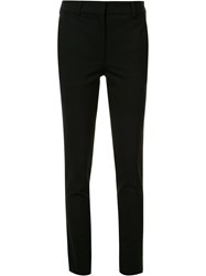 Victoria Beckham Slim Fit Tailored Trousers Black