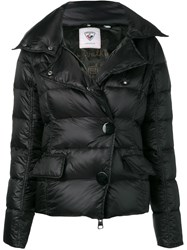 Rossignol Fitted Puffer Jacket Black