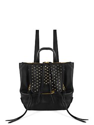 Kooba Bobbi Mini Studded Backpack Black