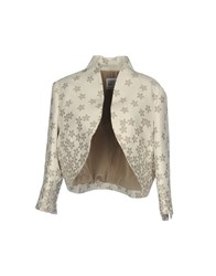 Cinzia Rocca Suits And Jackets Blazers Beige