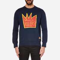 Vivienne Westwood Man Men's Rulers Sweatshirt Navy